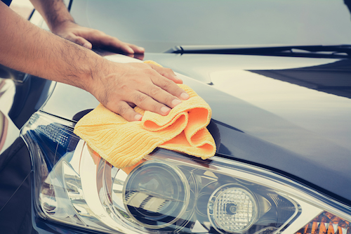 Car Care Tips, like waxing