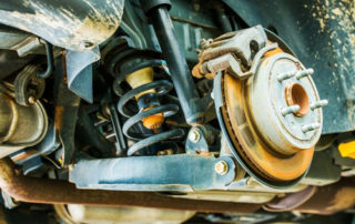 Signs of a Worn Suspension, Shocks or Struts