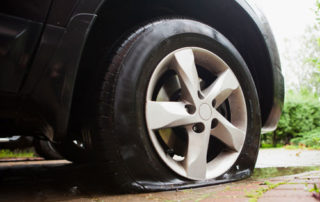 Flat Tire on Car, Preventing Flat Tires