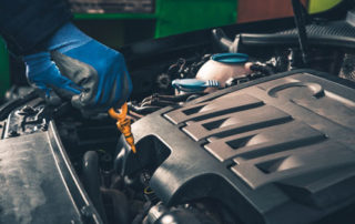 Oil Change with Synthetic Oil