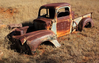 Photo of Rusted Pick-Up Truck